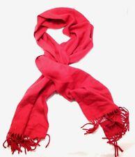 $60 Alfani Men'S Women'S Red Knit Warm Winter Casual Muffler Shawl Scarf Wrap