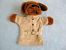 """Vintage 1981 Dakin 11"""" McGruff Crime Dog Hand Puppet"""