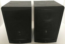 Infinity Reference Series RS1 Pair Black Bookshelf Speakers - Tested Work Great!