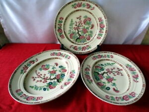 VINTAGE  - NEWHALL - HANLEY - Oval Platters - Lge/Small + Dinner Plate-25cm- VGC