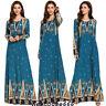 Dubai Women Muslim Maxi Dress Islamic Abaya Kaftan Jilbab Party Ramadan Robes