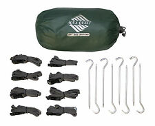 Aqua Quest Guide Tarp KIT - 100% Waterproof - 3 x 4 m (13 x 10 ft) Large Green