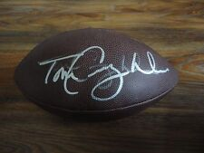 TOM COUGHLIN SIGNED NEW YORK GIANTS NFL FOOTBALL AUTO COA RARE! READ DESCRIPTION