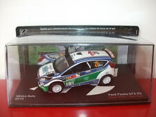 ford fiesta GT3 RS mexico rally 2010 1/43 la passion du rallye IXO altaya