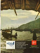 "original large colour advert ""  hoover washing machine   "" 1962"