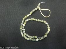 Jewelry making Moss Agate beads pebbles beautiful Lot of 5 - 16 inch strands <><