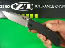 ZERO TOLERANCE usa Rick HINDERER G10 Spring Flipper Assist knife S35VN  ZT 0566