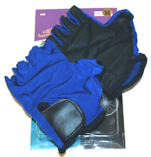Adult Lycra Cycling Gloves Medium / Blue Cycling Gloves