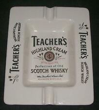 VINTAGE CERAMIC TEACHERS SCOTCH WHISKEY ASHTRAY RARE