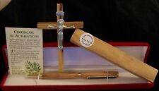 Holy Land Bible Olive Wood Church Christian Award Presentation Pen Gold Case Box
