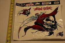 Lethal Threat Motorcycle street bike Decal Sticker Reaper Head