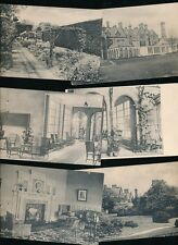 Derbyshire Derbys SWANWICK Hayes Conference Centre12 PPCs mostly c1910s