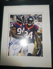 Antonio Smith #94 Houston Texans Autographed Picture Authentic