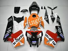 Fit for CBR600RR 2005 2006 REPSOL Orange Black ABS Injection Plastic Fairing Kit