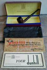 Scarce Boxed Group 1 1950s Dunhill Bruyere Estate Pipe 105 F/T Pipa Pfeife