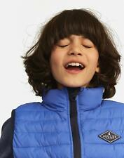 Joules Croft Quilted Gilet Jacket in DAZZLING BLUE