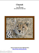 CHEETAH - cross stitch chart