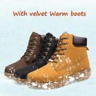 Waterproof Men Leather Tactical Ankle Boots Work Combat Military Shoes