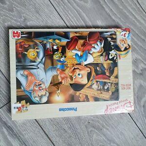 Disney Wood Puzzle Pinocchio 20 Piece Sealed