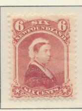 Newfoundland (Canada) Stamp Scott #35, Mint Lightly Hinged