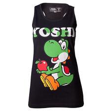 super Mario Yoshi Apple Girl-top schwarz s