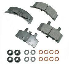 Disc Brake Pad Set-GAS Front Akebono ACT369
