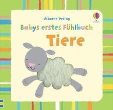 Babys erstes Fühlbuch: Tiere von Fiona Watt (2014, Gebundene Ausgabe)