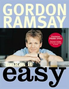 Gordon Ramsay Makes It Easy by Gordon Ramsay Hardback Book The Cheap Fast Free