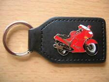 Schlüsselanhänger Kawasaki ZZR 1100 / ZZR1100 rot red Motorrad Art. 0504