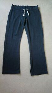 Fat Face Activewear Trousers Jogging Bottoms Size 14 Grey Marl