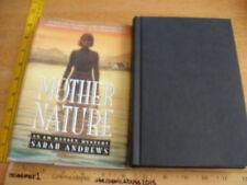 Mother Nature by Sarah Andrews *SIGNED* HC/DJ 1st Edition/Print 1997 Em Hansen