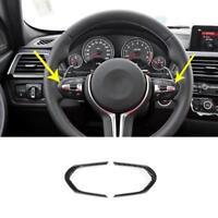 Carbon Fiber Sport Steering Wheel Trim For BMW F20 F22 F30 F32 F10 F06 X5 X U6J4