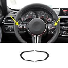 Carbon Fiber Sport Steering Wheel Trim For BMW F20 F22 F30 F32 F10 F06 X5 X6