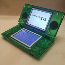 Nintendo DS Lite console New CLEAR GREEN shell with charger