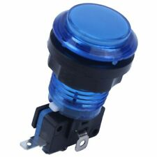 Round Lit Illuminated Arcade Video Game Push Button Switch LED Light 5V/12V N6N4