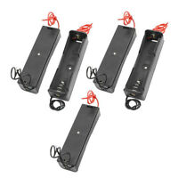 5pcs/Set Plastic Battery Storage Case Box Holder For 18650 Rechargeable Battery