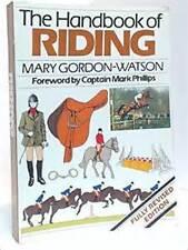 Handbook of Riding by Mary Gordon-Watson(Hardback, 1982) Like new, free shipping