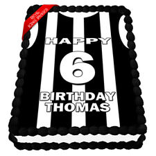 Collingwood Football Edible Icing Image Cake Topper Birthday Party Decoration