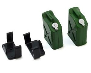 INTC25183GRN Team Integy 1/10 Crawler Scale Jerry Can (Fuel Cans) (Green) (2)