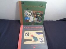 Lot of 2 Nick Bantock: Griffin & Sabine An Extraordinary, The Golden Mean, HC/DJ