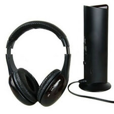 EG_ HiFi Wireless Headphones TV Computer FM Radio Earphones Headsets with Mic Co
