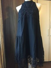 H&m Premium💕 Cos Black Lace Loose Dress Rrp£89 New Cond Worn Twice