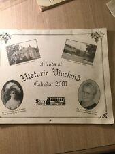 Rare Vineland New Jersey Historical Calendar Photos Inside South Jersey