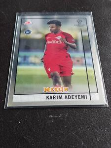2020/21 Topps Chrome Merlin UEFA - Karim Adeyemi RC Rookie Card #35, Mint.