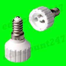 HIGH QUALITY SES E14 to GU10 Adaptor Socket Converter LED UK STOCK FAST DISPATCH