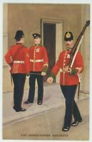 Dorsetshire Regiment, Gale & Polden 2097 J. McNeill Military Art Postcard, B999