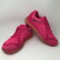Nike Womens Air Max 2015 Running Shoes Pink 698903-600 Low Top Lace Up 12 M