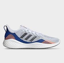 Adidas FluidFlow 2.0 Flyknit Men's Athletic Shoe White Running Sneaker Trainer