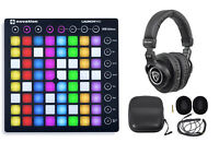 Novation LAUNCHPAD S MK2 MKII MIDI USB RGB Controller Pad+Studio Headphones+Case