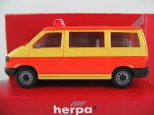 """Herpa 041652 VW T4 Caravelle (1990) """"Schulbus"""" in gelb/orange 1:87/H0 NEU/OVP"""